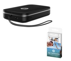 HP Sprocket Mobile Photo Printer - Black