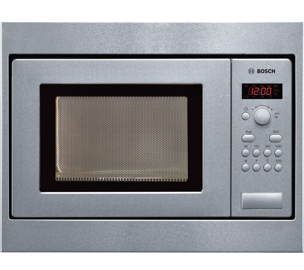Buy bosch hmt75m551b built in solo microwave stainless for Small built in microwave oven