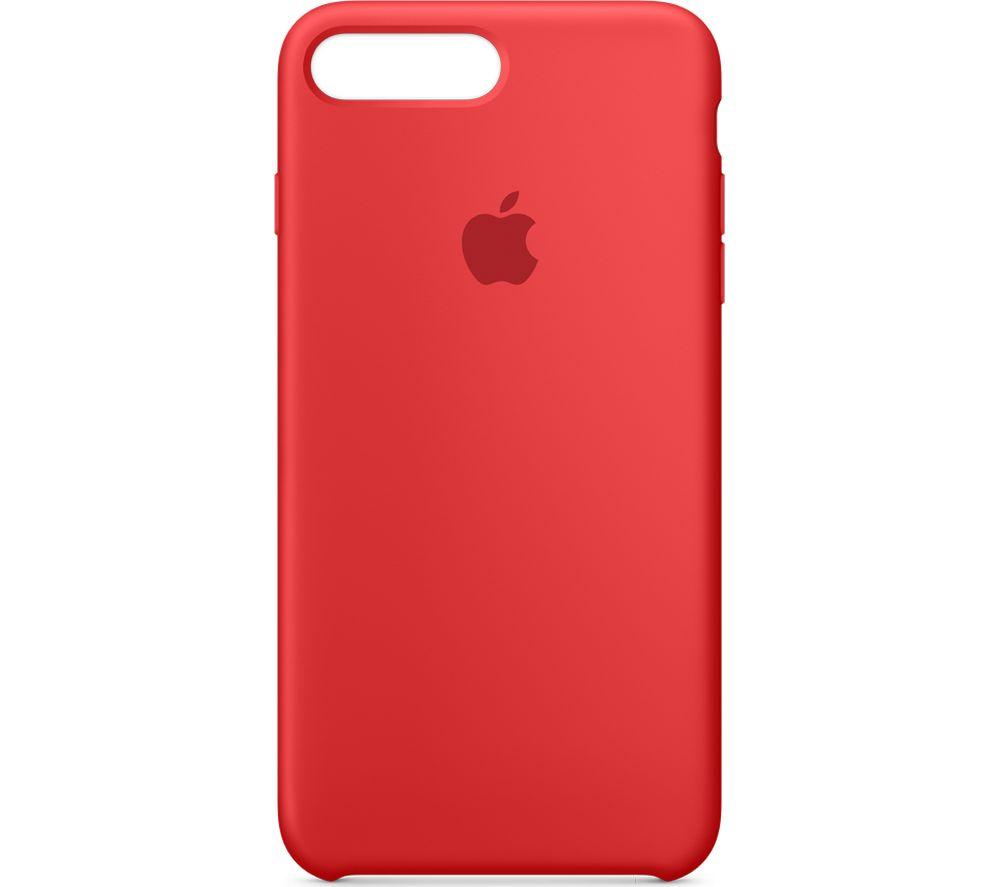 APPLE Silicone iPhone 7 Plus Case - Red