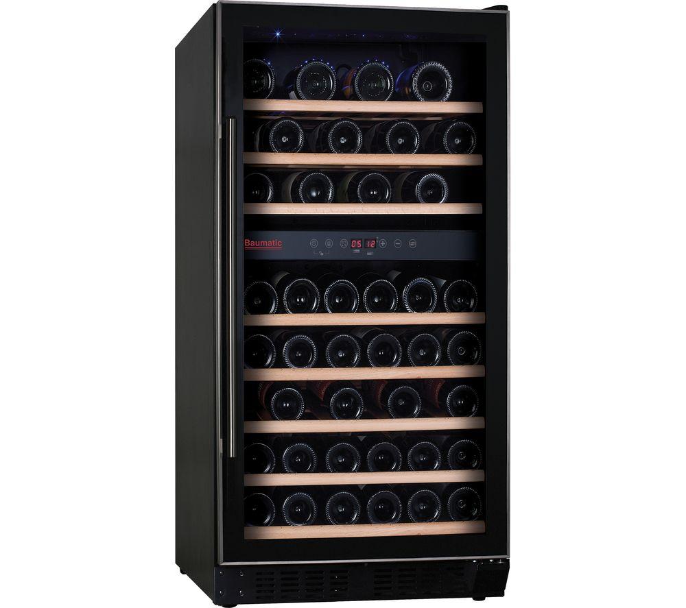 buy baumatic bwc1215ss built in wine cooler free. Black Bedroom Furniture Sets. Home Design Ideas