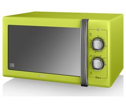 SWAN Retro SM22070LN Solo Microwave - Lime