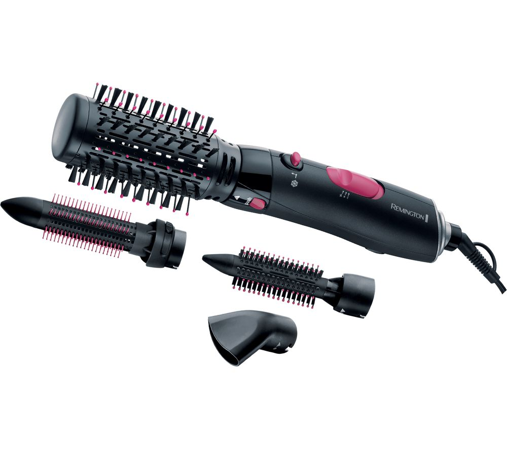REMINGTON  AS7051 Volume & Curl Air Styler  Black Black