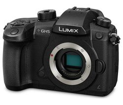 PANASONIC Lumix DC-GH5EB-K Compact System Camera - Black, Body Only