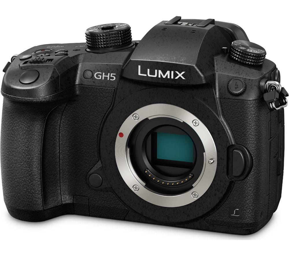 Image of LUMIX PANASONIC Lumix DC-GH5EB-K Compact System Camera - Black, Body Only, Black