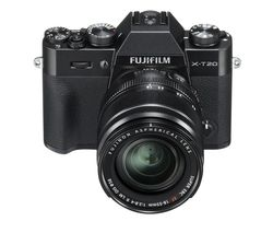 FUJIFILM X-T20 Compact System Camera with 18-55 mm f/2.8-f/4 Standard Zoom Lens - Black
