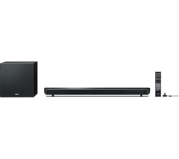 yamaha ysp2700 7 1 wireless sound bar deals pc world. Black Bedroom Furniture Sets. Home Design Ideas