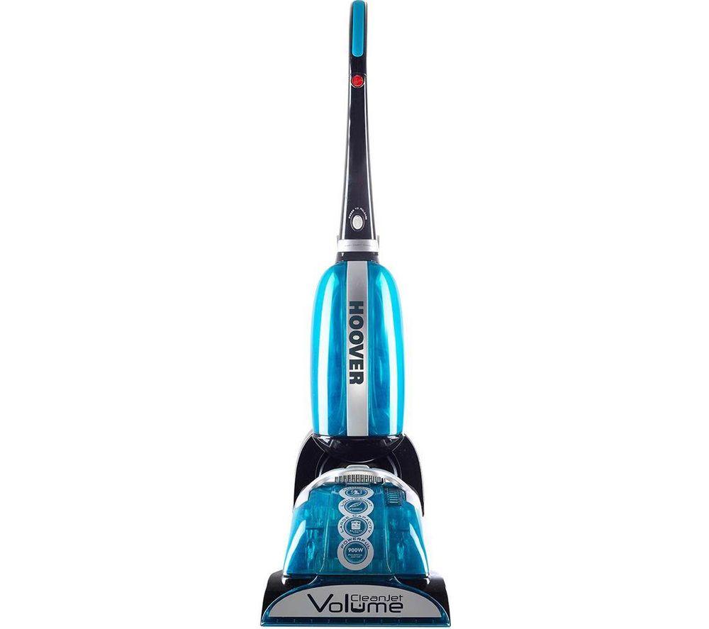 Hoover cleanjet volume cj625 1 carpet cleaner blue