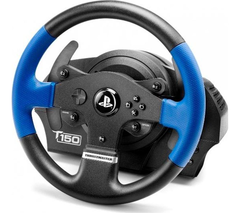 THRUSTMASTER TS150 RS PlayStation & PC Gaming Wheel - Black