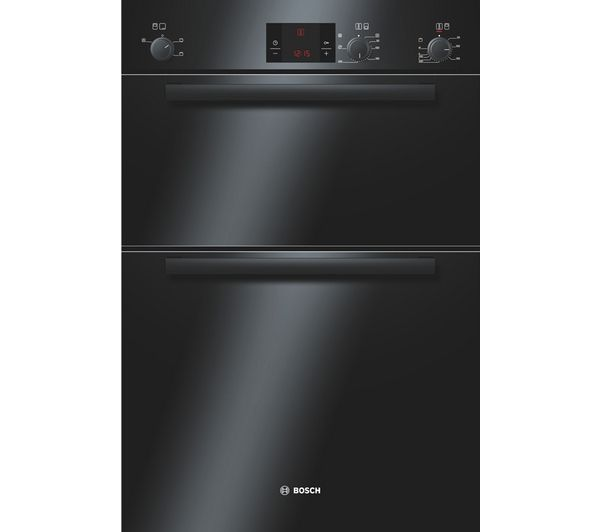 BOSCH Avantixx HBM13B261B Electric Double Oven - Black