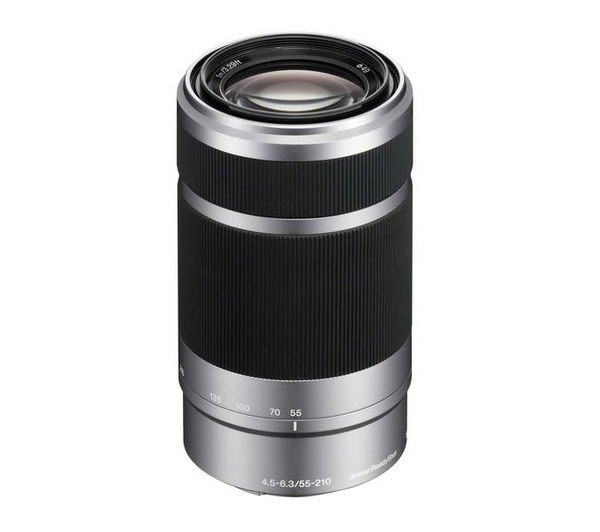 buy sony sel55210 ae 55 210 mm f 4 5 6 3 telephoto zoom lens free delivery currys. Black Bedroom Furniture Sets. Home Design Ideas