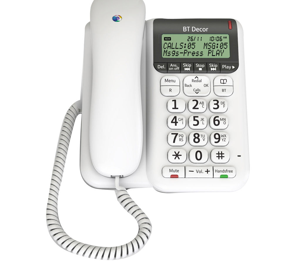 corded phones with answering machine reviews