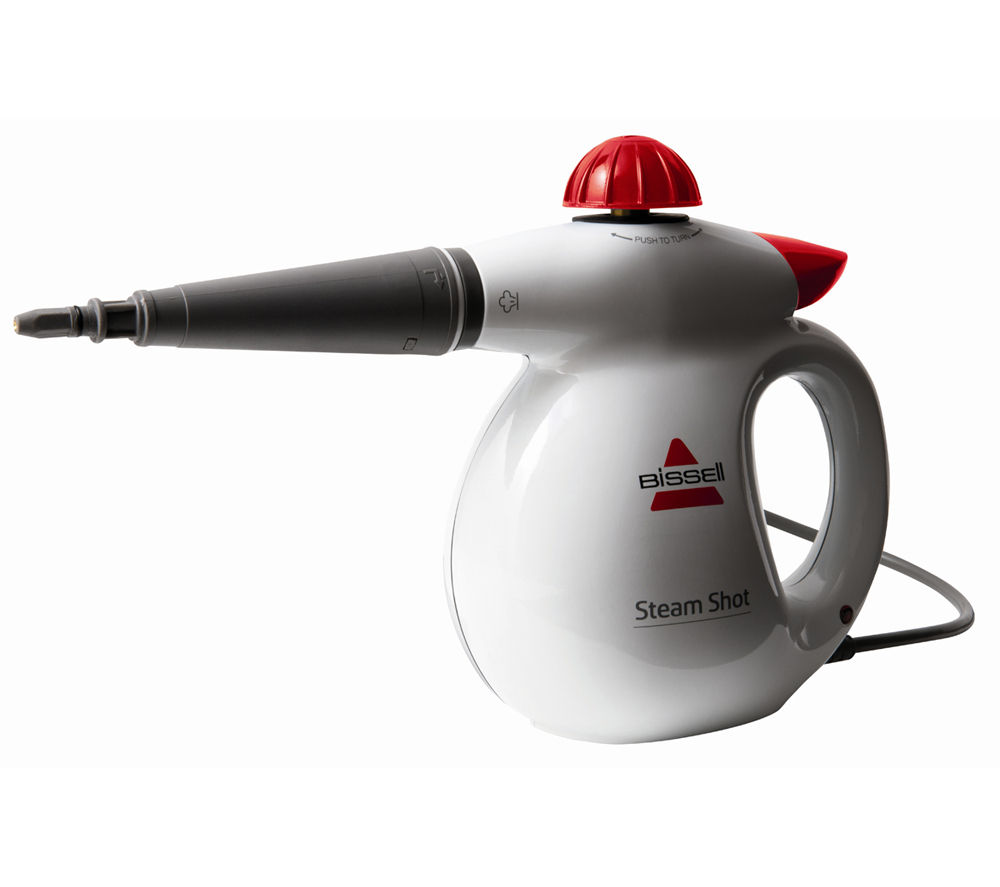 BISSELL  2635 Steam Shot Steam Cleaner  White White
