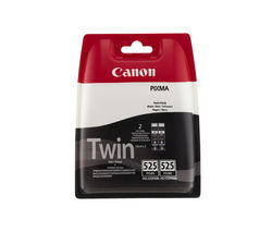 CANON PGI-525 Black Ink Cartridge - Twin Pack