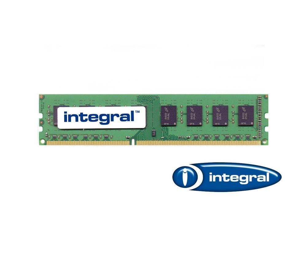 INTEGRAL PC3-10600 DDR3-1333 PC Memory - 4 GB DIMM RAM