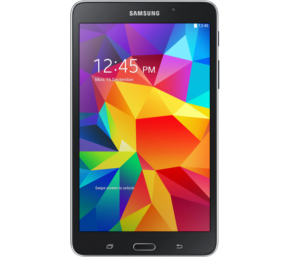 "SAMSUNG Galaxy Tab 4 7"" Tablet - 8 GB, Black"