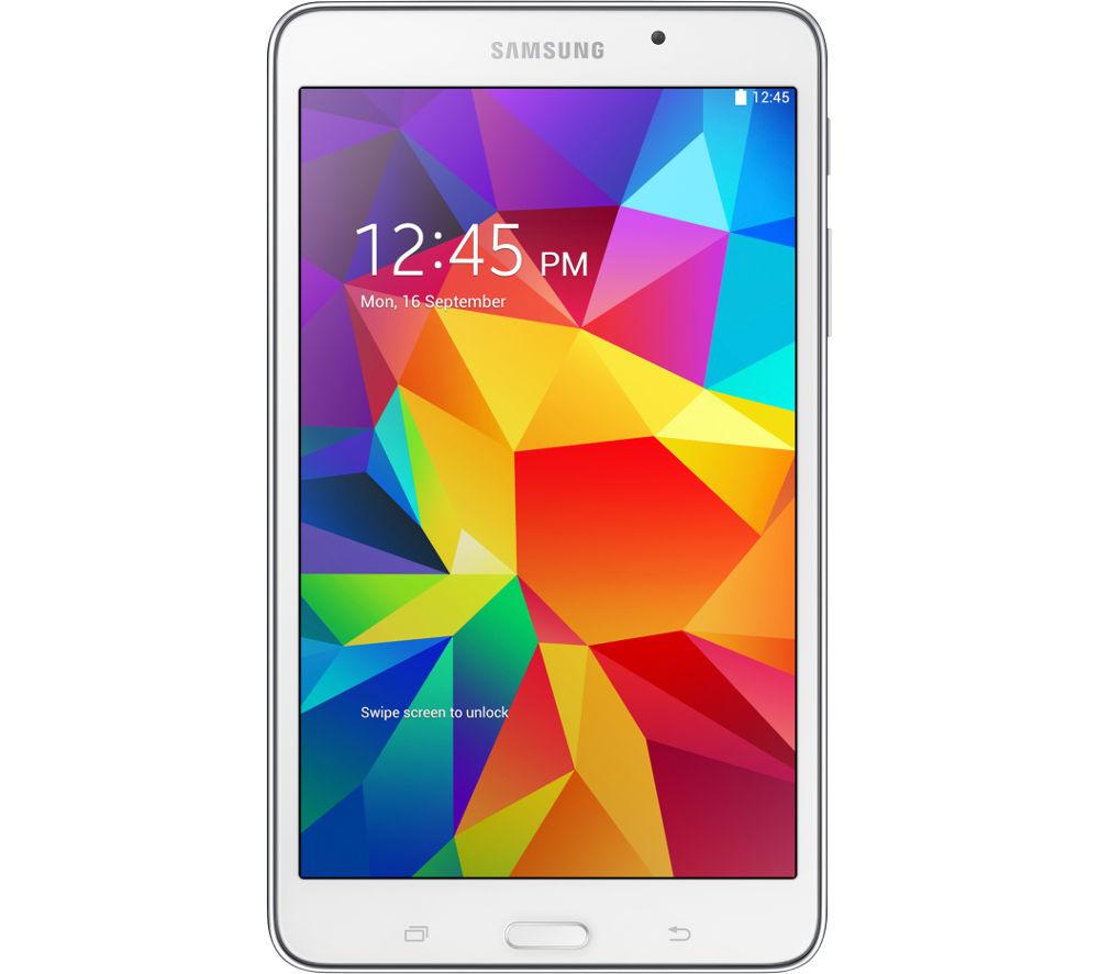 """SAMSUNG Galaxy Tab 4 7"""" Tablet - 8 GB, White"""