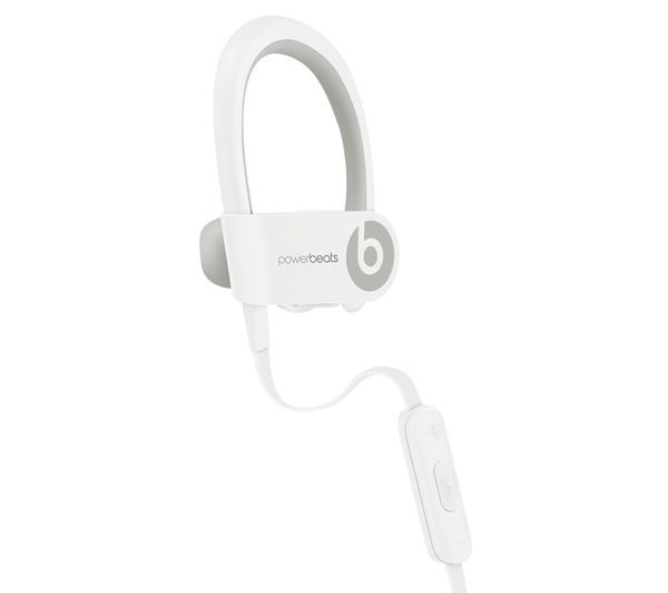 buy beats by dr dre powerbeats wireless bluetooth headphones white free delivery currys. Black Bedroom Furniture Sets. Home Design Ideas