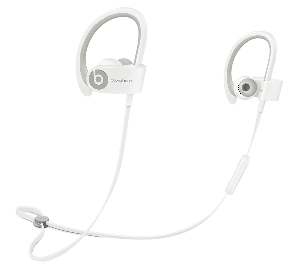BEATS BY DR DRE Powerbeats² Wireless Bluetooth Headphones - White