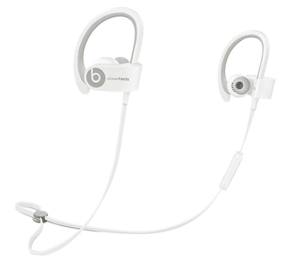 BEATS BY DR DRE Powerbeats² Wireless Bluetooth Headphones - White