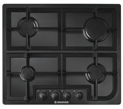 HOOVER HGH64SCB Gas Hob - Black