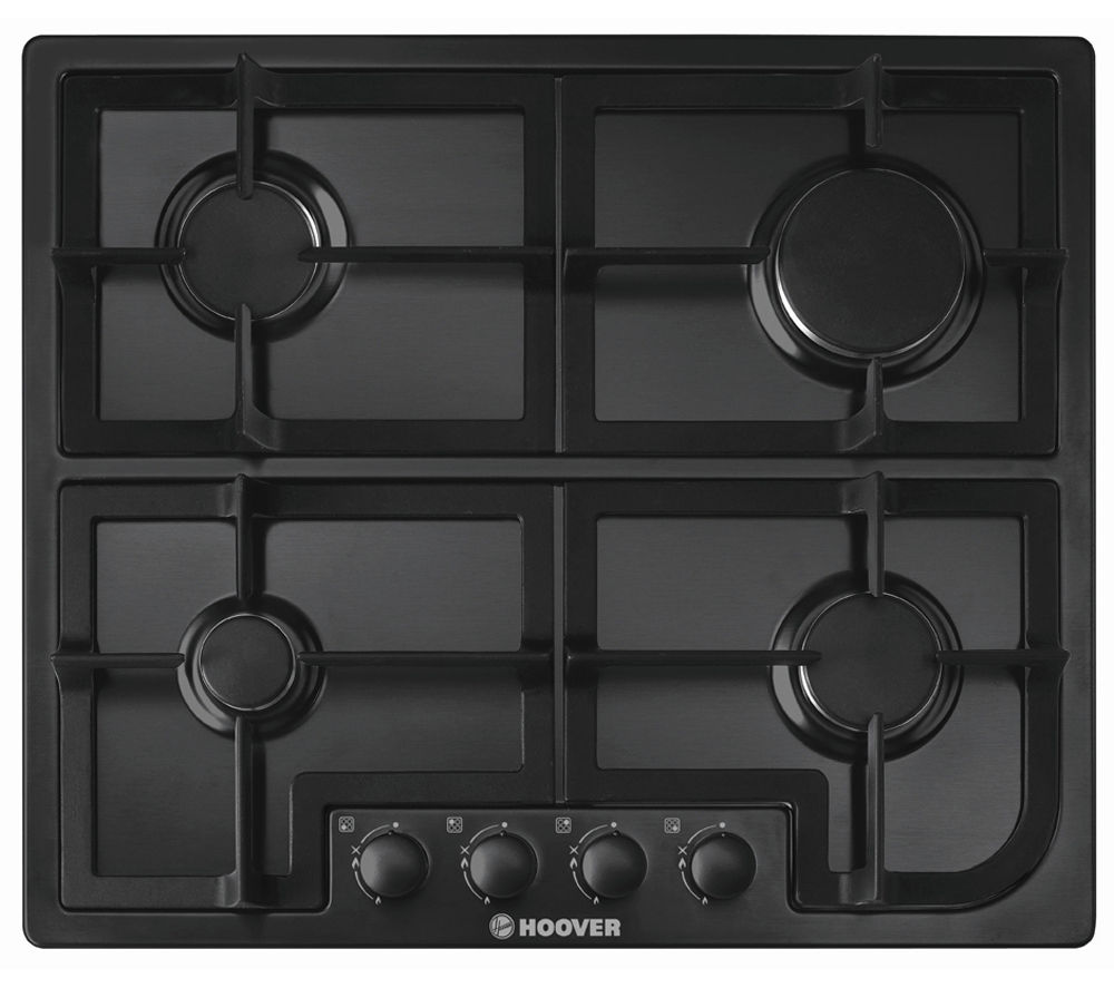 HOOVER  HGH64SCB Gas Hob  Black Black