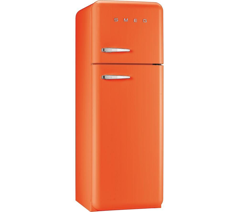 buy cheap orange smeg fridge freezer compare refrigeration prices for best uk deals. Black Bedroom Furniture Sets. Home Design Ideas