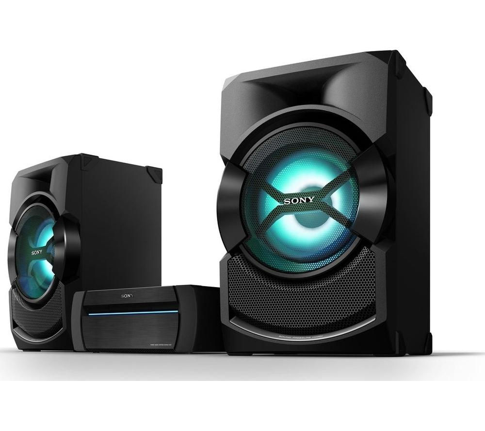 Click to view more of SONY  SHAKE-X3D Wireless Megasound Hi-Fi System - USB Connector