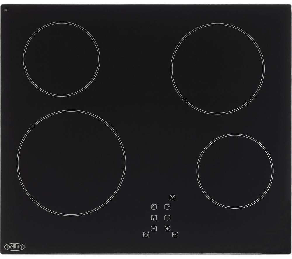 BELLING CT601 Electric Ceramic Hob - Black
