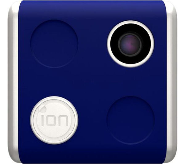 ION SnapCam Lite Wearable Camcorder - White & Blue