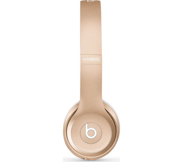 Image of BEATS Solo 2 Wireless Bluetooth Headphones - Gold