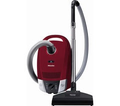 MIELE Compact C2 Cat & Dog PowerLine Cylinder Vacuum Cleaner - Red