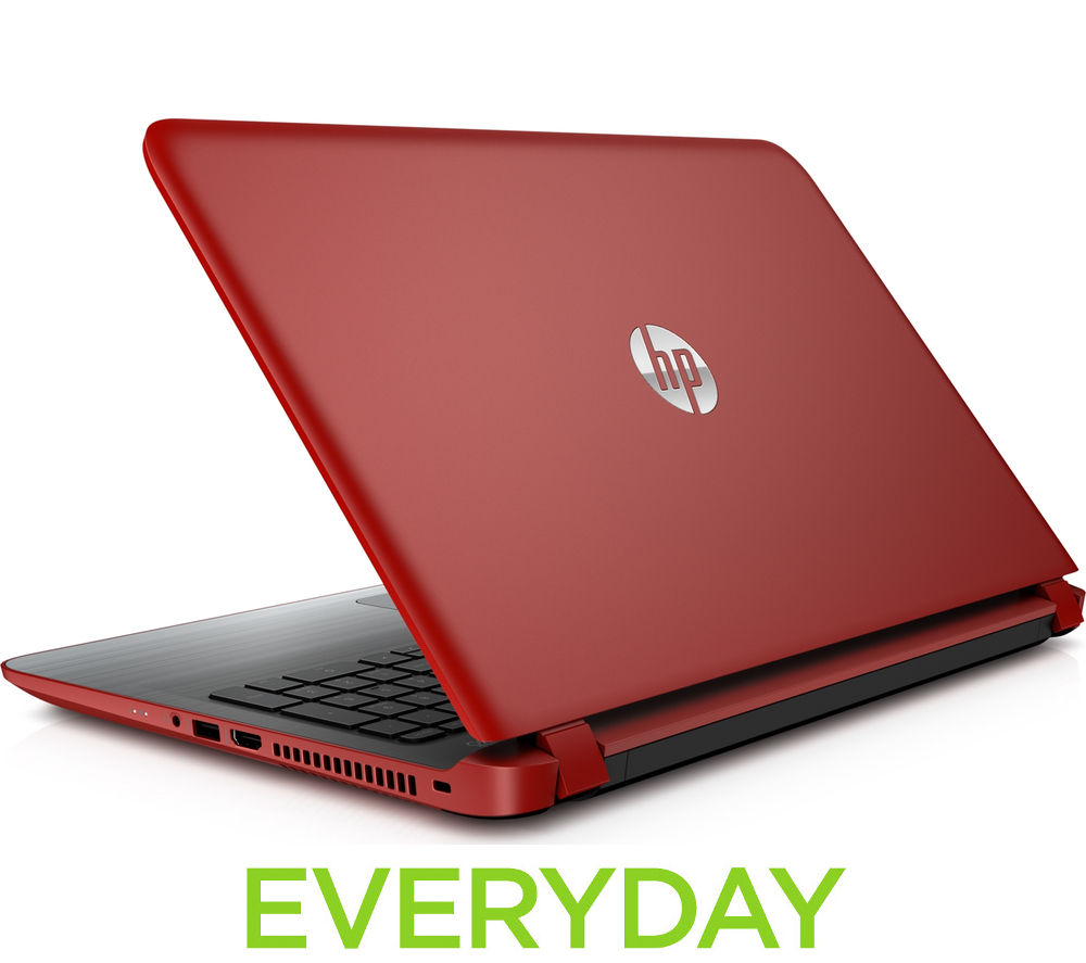 HP Intel Pavilion 15ab270sa 15.6 Laptop  Red Red