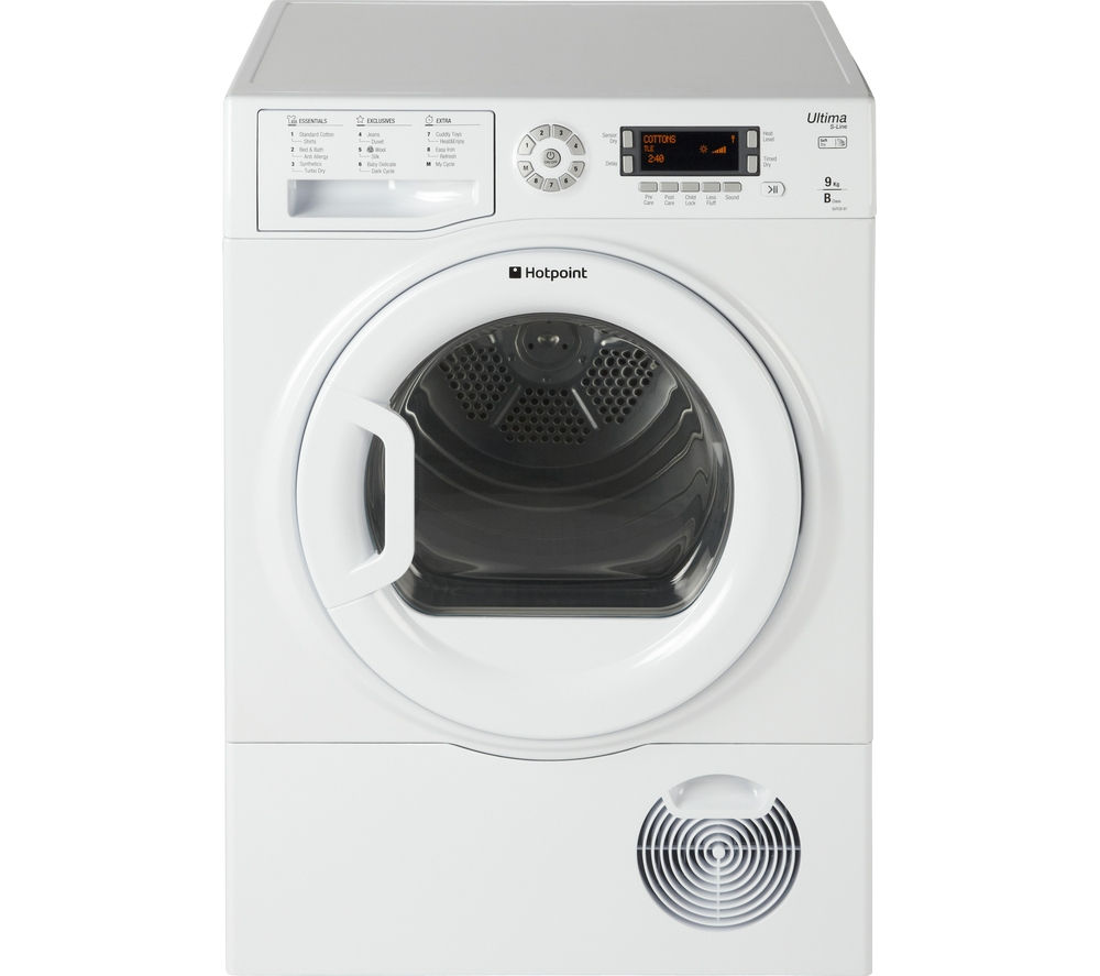 HOTPOINT  ULTIMA SUTCD97B6PM Condenser Tumble Dryer  White White
