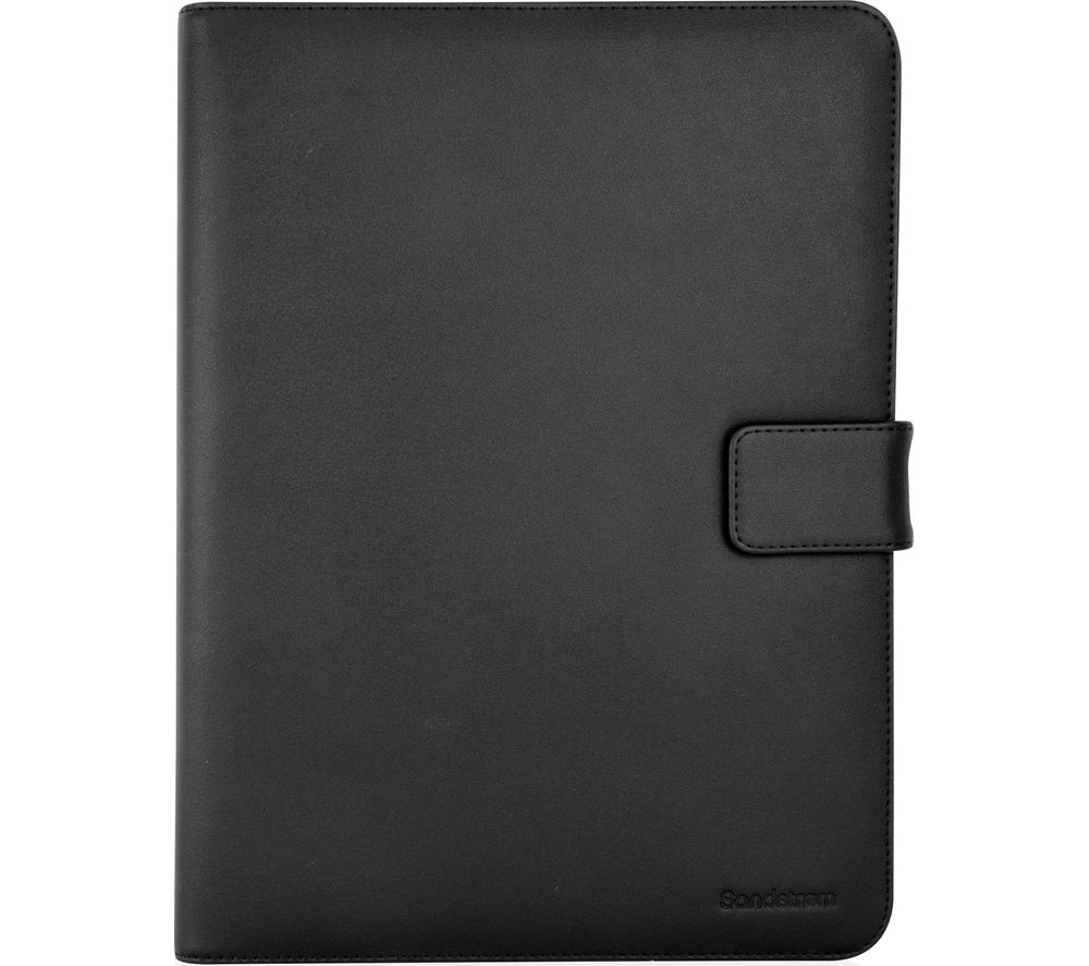 SANDSTROM S8UTB16 Leather Tablet Case - Black