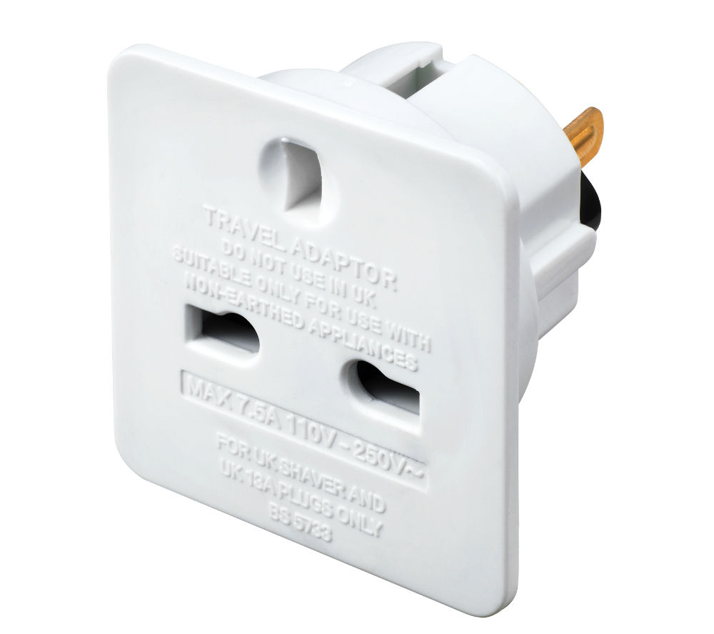 MASTERPLUG TAUSA-MP UK to US Travel Adapter