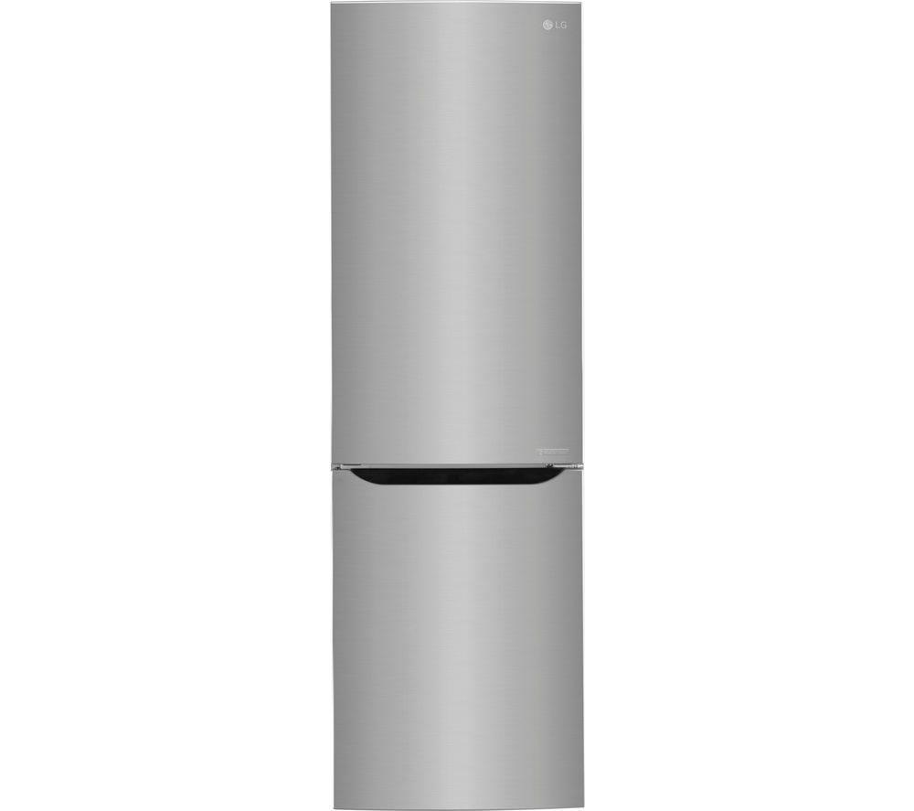 LG  GBB59PZRZS Fridge Freezer  Steel