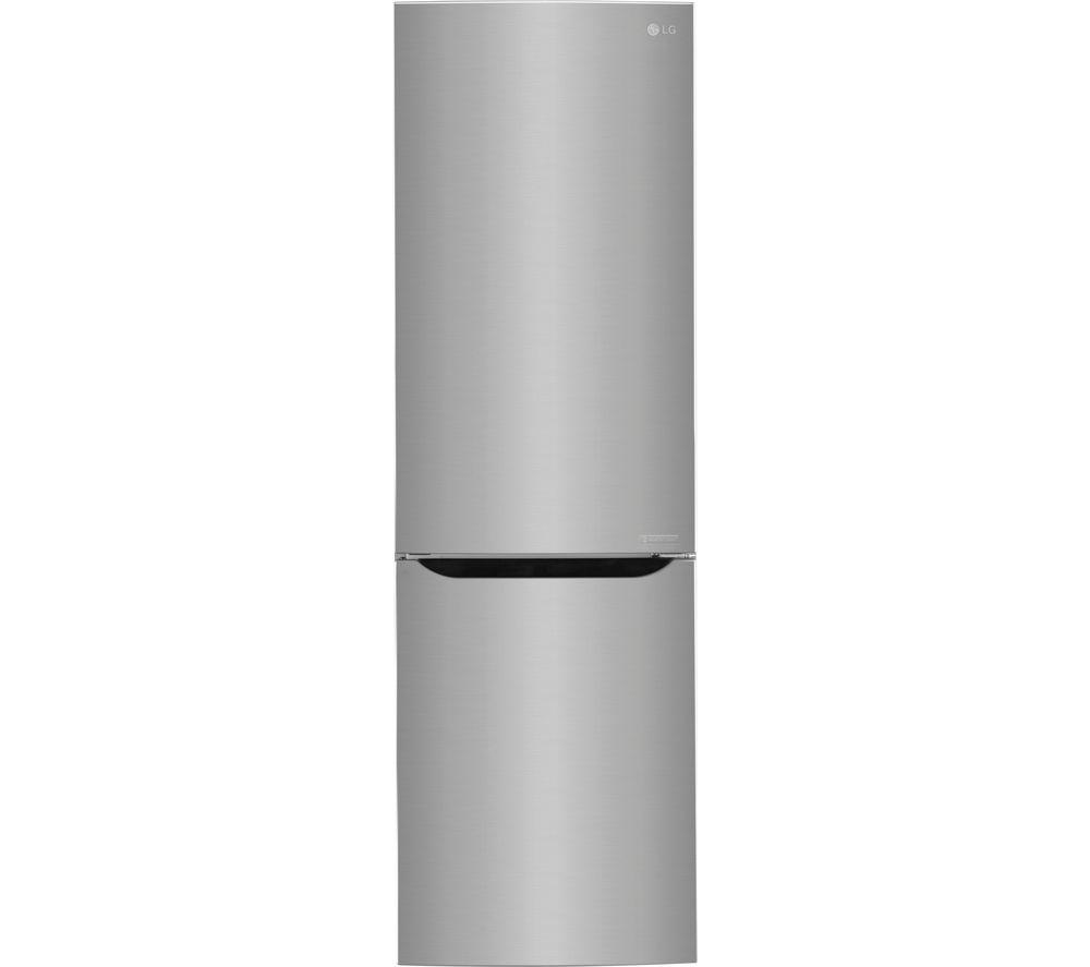 LG GBB59PZRZS 67/33 Fridge Freezer - Steel