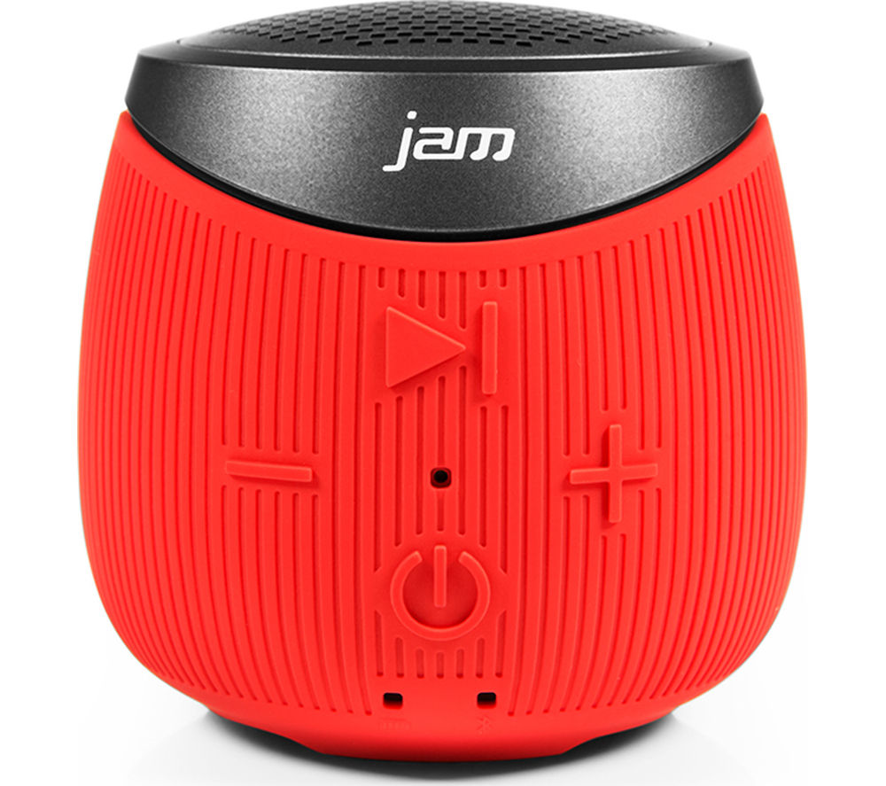 Click to view more of JAM  Double Down HX-P370RD-EU Portable Wireless Speaker - Red, Red