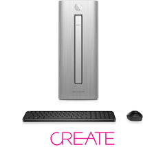 HP Envy 750-279na Desktop PC - Silver