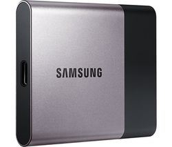 SAMSUNG T3 External SSD - 500 GB, Silver