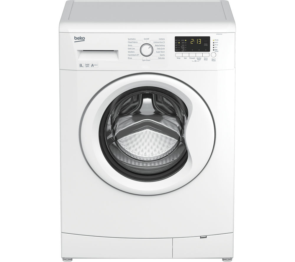 BEKO  WM84145W Washing Machine  White White