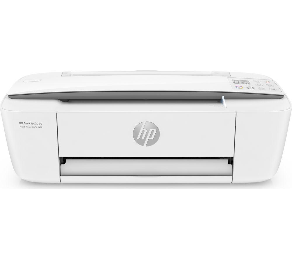 HP DeskJet 3720 All-in-One Wireless Inkjet Printer