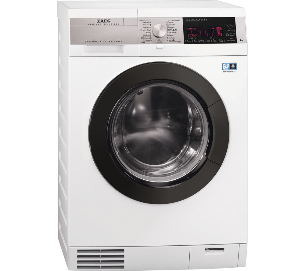 AEG  L99695HWD Washer Dryer  White White