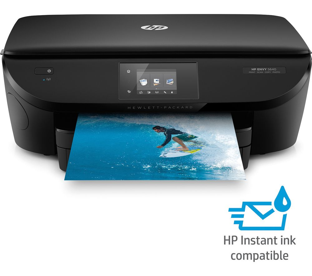 hp envy 5640 all in one wireless inkjet printer deals pc. Black Bedroom Furniture Sets. Home Design Ideas