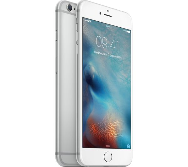 apple iphone 6s plus 32 gb silver deals pc world. Black Bedroom Furniture Sets. Home Design Ideas