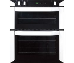 BELLING BI70FP Electric Built-under Double Oven - White