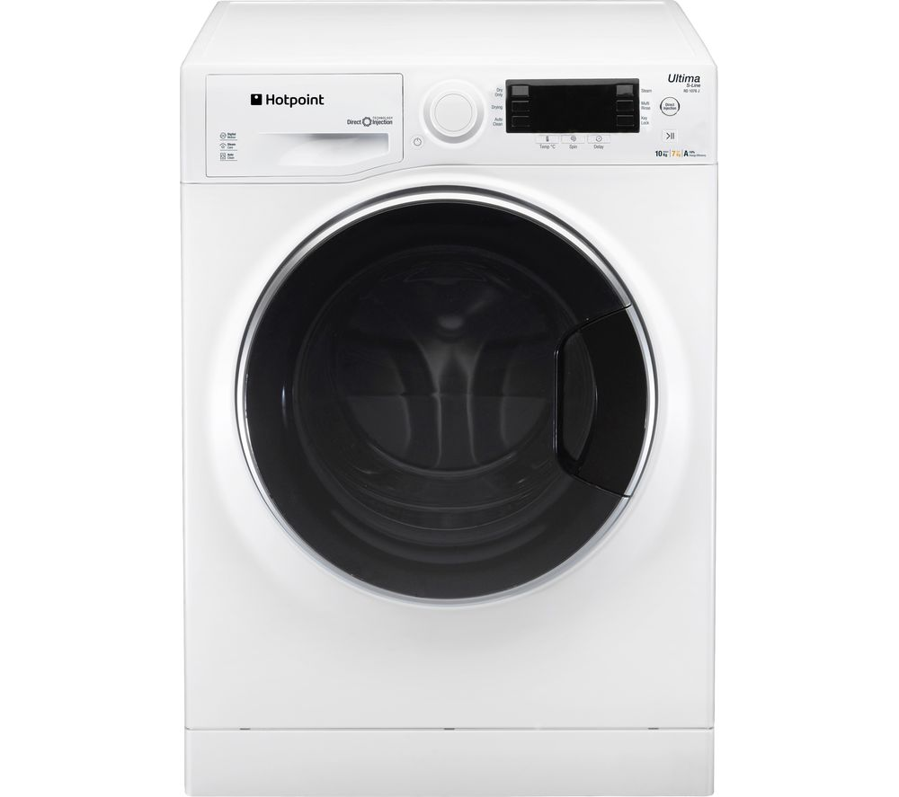 HOTPOINT  RD 1076 JD UK Washer Dryer  White White