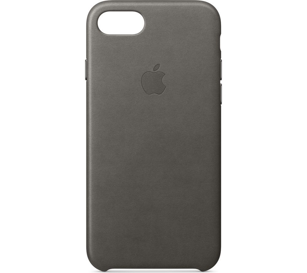 Buy APPLE Leather iPhone 7 Case - Storm Grey : Free Delivery : Currys
