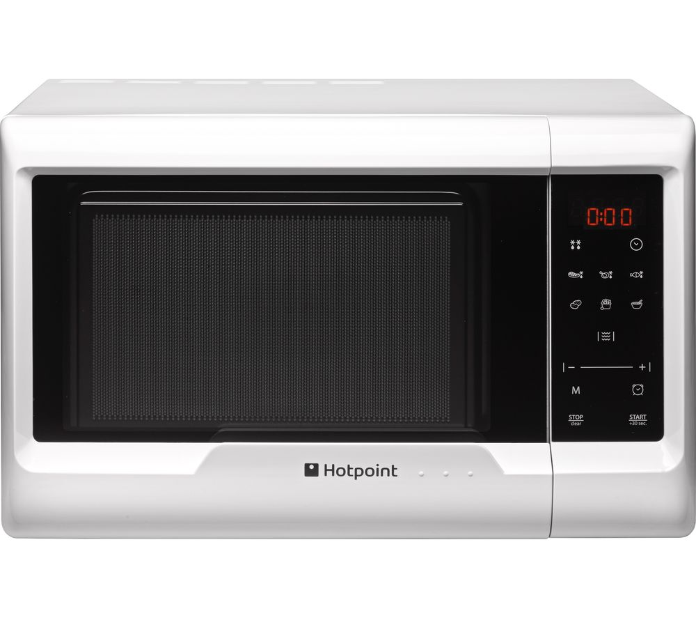 HOTPOINT  MyLine MWH 2031 Solo Microwave  White White