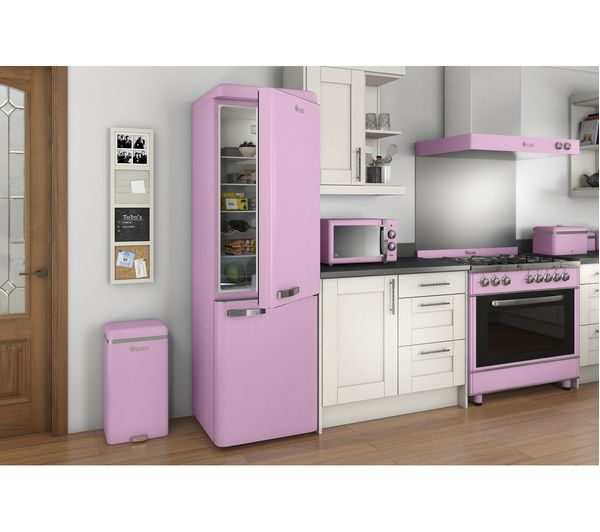Buy Swan Retro Sm22070pn Solo Microwave Pink Free